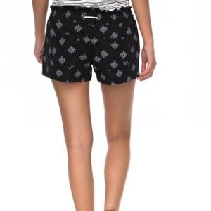 Roxy Shorts - Roxy Oceanside Printed Drawstring Shorts